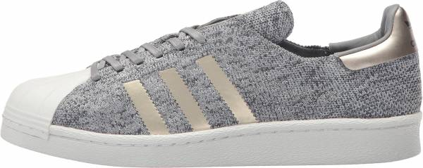 adidas superstar primeknit grey