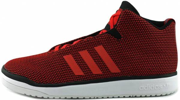 outlet store sale dd5fe c1b41 Adidas Veritas Mid Red
