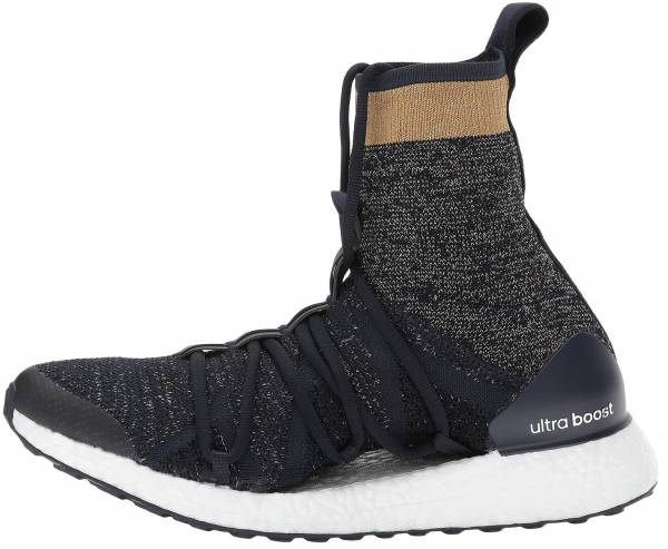 timeless design f3a6c 63de4 Adidas by Stella McCartney Ultra Boost X Mid Black