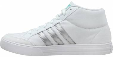 Adidas VS Set Mid - White Silver Aqua