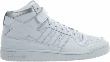 Adidas Forum Refined - White (Ftwbla / Ftwbla / Plamet)