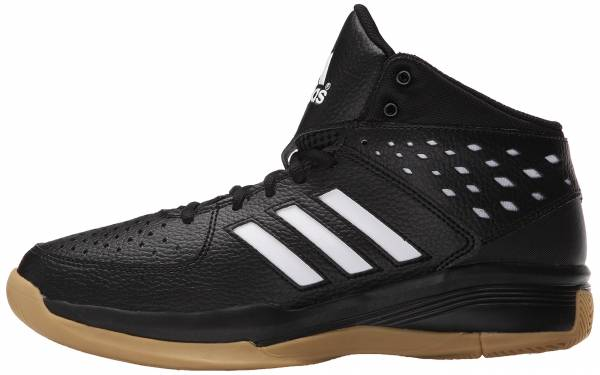 Adidas Court Fury - Black/White/Gum