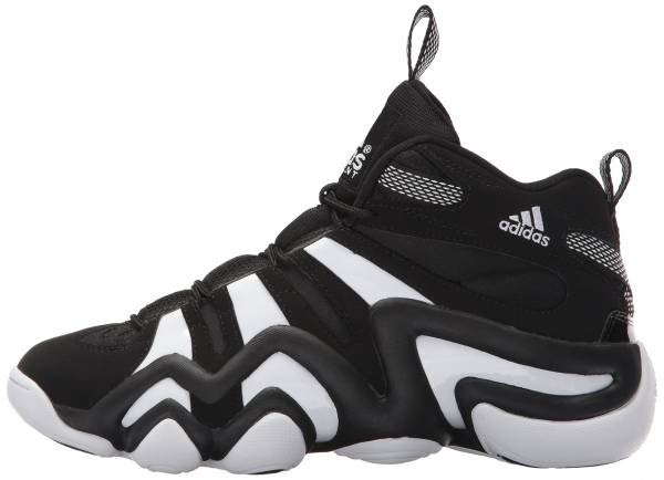meet 2be79 84790 Adidas Crazy 8 BlackWhiteBlack