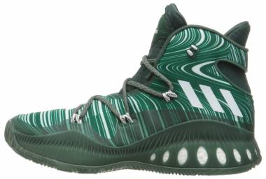 new york 76528 1ad44 Adidas Crazy Explosive Green Men