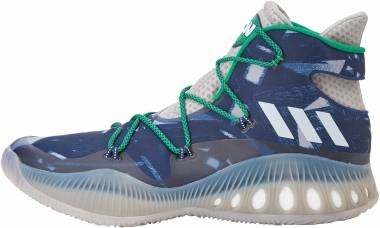 pretty nice 3c4b0 3c789 Adidas Crazy Explosive Grey White Blue Men