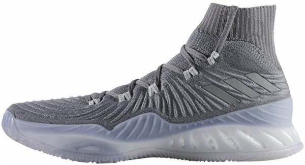 finest selection c34b0 34b34 Adidas Crazy Explosive 2017 Primeknit Grey Five Grey Four Grey Three