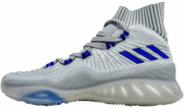Adidas Crazy Explosive 2017 Primeknit - White-collegiate Royal-clear Onix (BB7288)