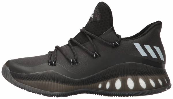 big sale 4140c 8ec0b Adidas Crazy Explosive Low Black