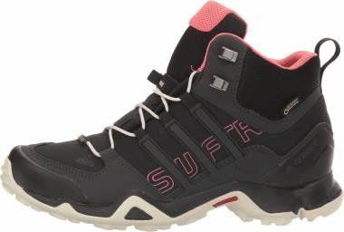 Adidas Terrex Swift R Mid GTX Black/Black/Tactile Pink Women
