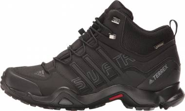 Adidas Terrex Swift R Mid GTX - Black/Black/Dark Grey
