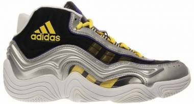 Adidas Crazy II - Silver Metallic/Light Yellow/Night Flash