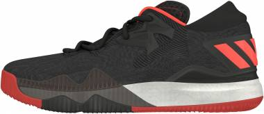 Adidas CrazyLight Boost 2016 - Black Negbas Scarlet Negbas