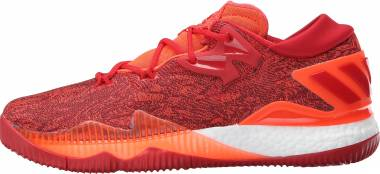 new products 73dbd f18f9 Adidas CrazyLight Boost 2016 Solar Red Light Scarlet Infrared Men
