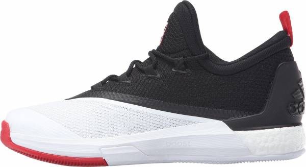 Adidas CrazyLight Boost 2.5 Low Core Black / Scarlet / Footwear White