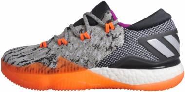 Adidas CrazyLight Boost 2016 Primeknit - Grey Orange White