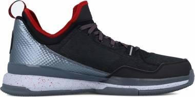 Adidas D Lillard BLACK/SILVER/RED Men