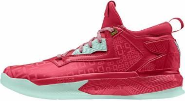 Adidas D Lillard 2 - Red (B72728)