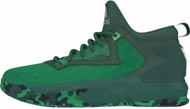 Adidas D Lillard 2 - Green-white (B42379)