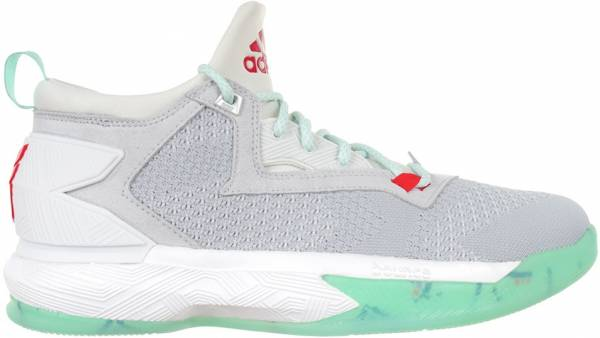 Adidas D Lillard 2 Light Solid Grey