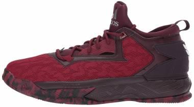 Adidas D Lillard 2 - Borgoña Borgoña Blanco (B42382)