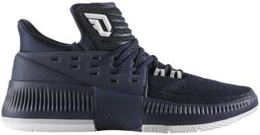 Adidas D Lillard 3 - Collegiate Navy White