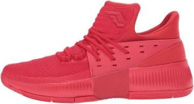 uk availability 73147 16bb2 Adidas D Lillard 3 Red Men
