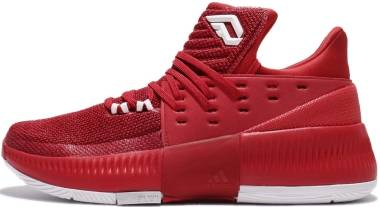Adidas D Lillard 3 - Red (BY3192)