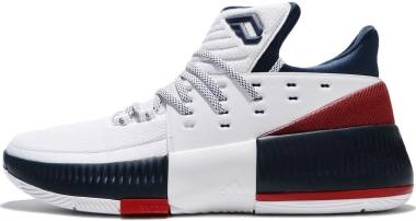 Adidas D Lillard 3 - White (BY3762)