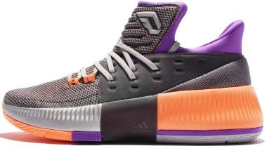 Adidas D Lillard 3 - Silver Metallic Orange Bb8270