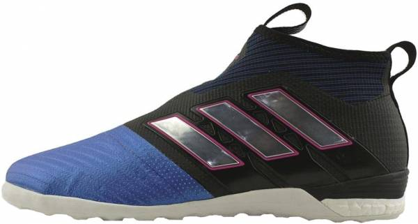 Adidas Ace Tango 17+ Purecontrol Indoor - Black/White/Blue