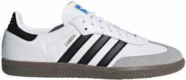 Adidas Samba Classic Footwear White / Core Black-clear Granite Men