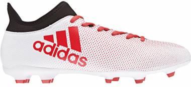 Adidas X 17.3 Firm Ground White Men