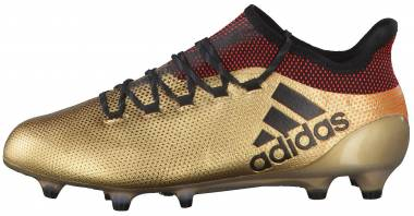 Adidas X 17.1 Firm Ground - Gold