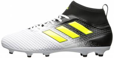 Adidas Ace 17.3 Firm Ground White/Solar Yellow/Black Men