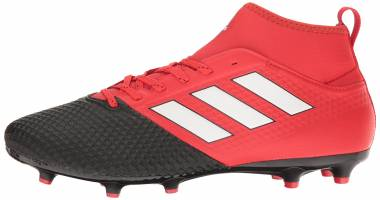 Adidas Ace 17.3 Firm Ground - Red Red White Black Red White Black (BA8506)