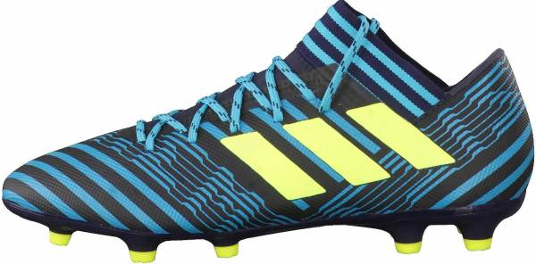 promo code a7ffd 9278f Adidas Nemeziz 17.3 Firm Ground Legend Ink Solar Yellow Energy Blue