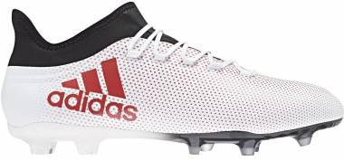 Adidas X 17.2 Firm Ground - Grey/Real Coral/Core Black (CP9187)