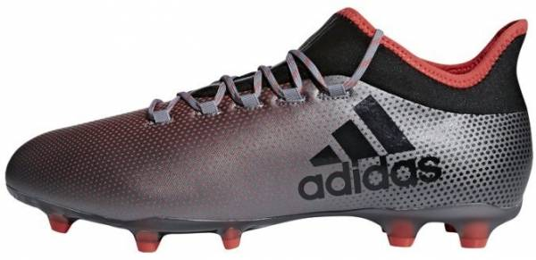 Adidas X 17.2 Firm Ground - Grau Grey Cblack Reacor 000 (DB1401)