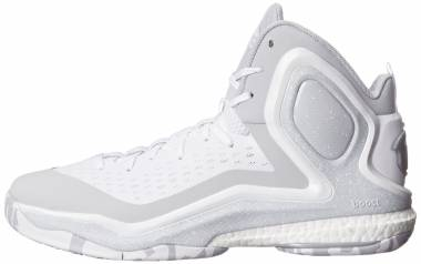 Adidas D Rose 5 Boost - White/Grey