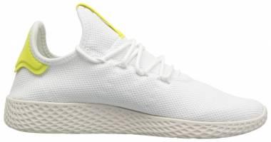 Pharrell Williams Tennis Hu White/White/Chalk White Men