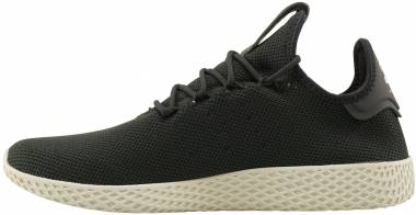Pharrell Williams Tennis Hu - Carbon/Carbon/Chalk White (CQ2162)