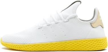 Adidas Pharrell Williams Tennis Hu - Running White/Running White-Yellow/Gold (BY2674)