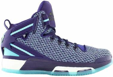 Adidas D Rose 6 Boost - Dark Purple Blast Purple F13 Blue Glow S16