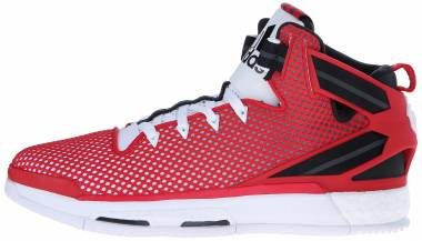 Adidas D Rose 6 Boost - Red White Black Scarlet Ftwbla Negbas