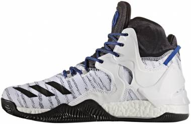 Adidas D Rose 7 White-core Black-blue Men