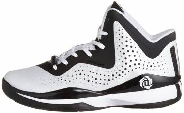 Adidas D Rose 773 III - White Black