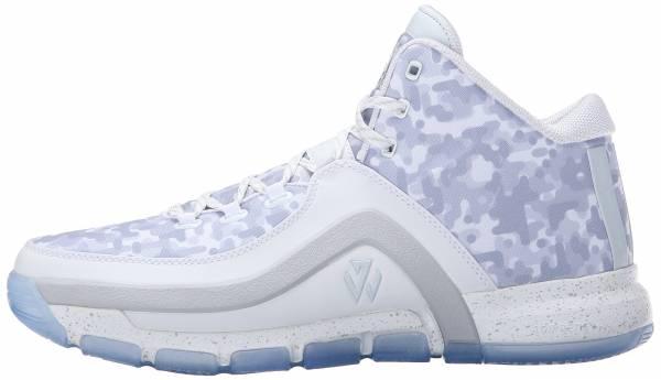 Adidas J Wall 2 - White/Clear/Grey
