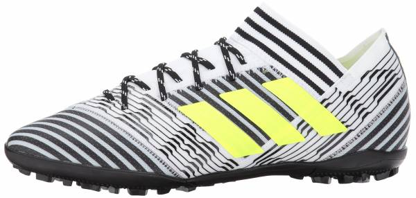 Adidas Nemeziz Tango 17.3 Turf Footwear White  Solar Yellow  Core Black 7dcdc8b034