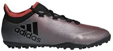 Adidas X Tango 17.3 Turf - Grau Grey Core Black Real Coral S18 (AH2334)