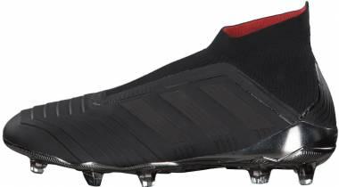 Adidas Predator 18+ Firm Ground - Core Black/Core Black/Real Coral (CM7393)